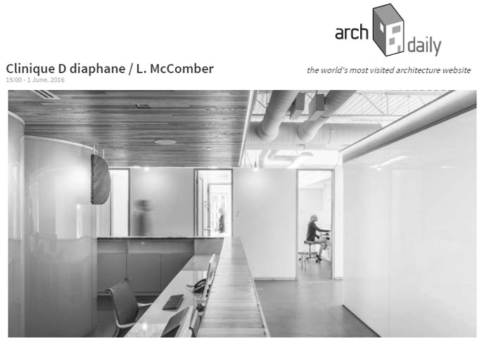 ArchDaily - Clinique D diaphane